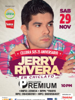 Jerry Rivera en Chiclayo